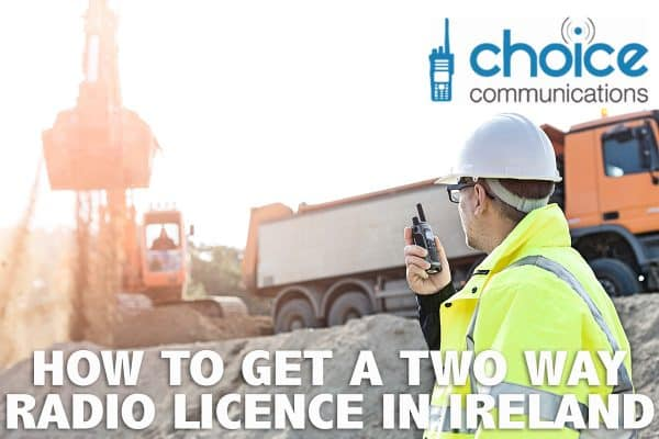 Two Way Radio Licence Ireland Image