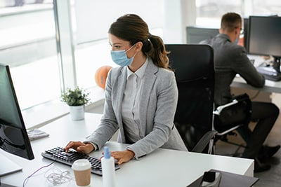 Face Masks For Office Workers Image
