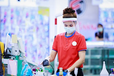 Face Masks For Retailers in Ireland Image